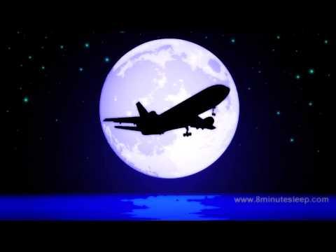 JETLINER NIGHT FLIGHT | Celestial Fans Check This Out! | White Noise For Sleep