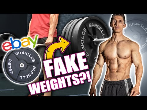 """Jeff Cavalier - ATHLEAN-X """"Fake Weights"""" Exposed! 