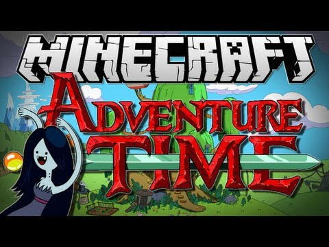 "Minecraft | ADVENTURE TIME! (Marceline!) FINALE! | Adventure Map [1.6.2], ""2,500 LIKES GETS MORE ADVENTURE MAPS!"" -- SUBSCRIBE! -- http://bit.ly/TxtGm8 Once again, you guys destroyed the like target from last time, so here is the t..."