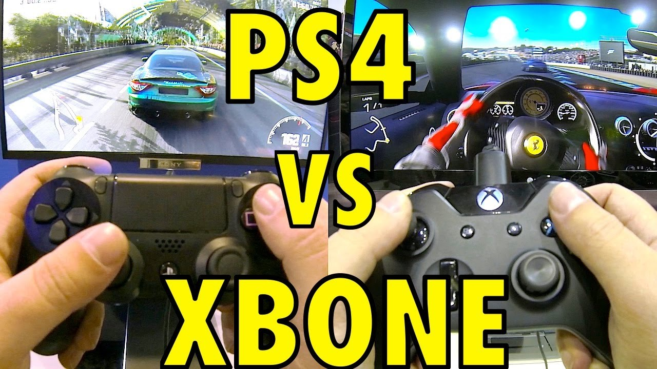 PS4 vs XBOX ONE - Dual...