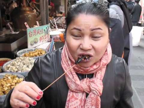 Eating Scorpions in China -8yzO-1MJZSM