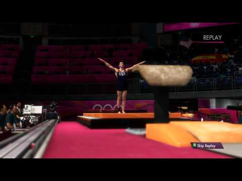 London 2012: The Official Video Game - Men's Vault