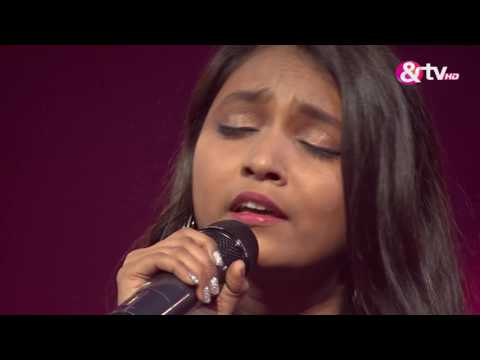 Krutika Borkar - Performance - Knock Out Round Episode 16 - January 29, 2017 - The Voice India Season2