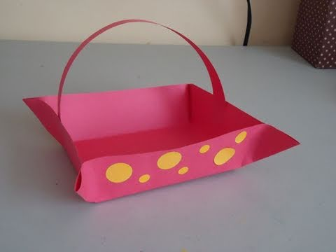 Construction-Paper Baskets