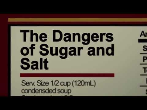 The Dangers of Sugar and Salt