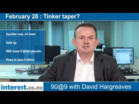 90 seconds @ 9am: Tinker taper?