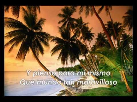 Somewhere Over The Rainbow - Israel Kamakawiwo Ole - (subtitulada en español)
