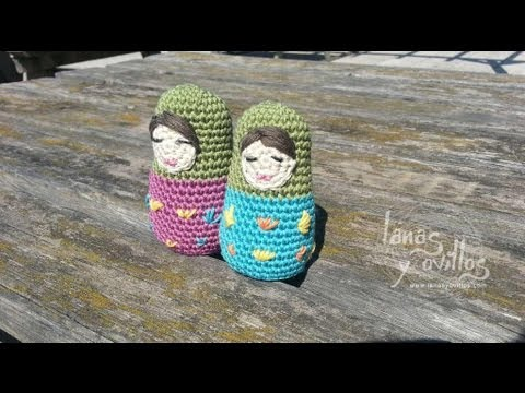 Amigurumi Tutorial Espanol : Tutorial Matrioska Amigurumi En Espanol - YouTube