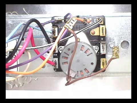 Timer motor checking Whirlpool 29 inch electric    dryer