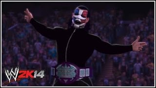 WWE 2K14 Jeff Hardy's Custom TNA World 'Immortal' Title