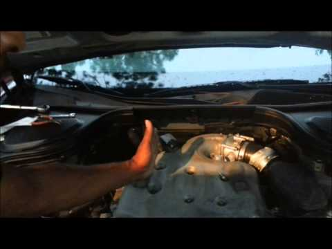 How to the replace camshaft sensor on Infiniti M35 G35 FX35 NIssan 350z Altima 3 5 pt 1