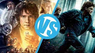 The Hobbit: Desolation Of Smaug VS Harry Potter And The