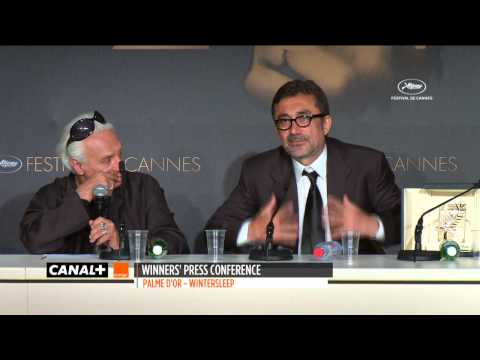 Cannes 2014 - Palme d'Or WINTER SLEEP - Conférence de presse