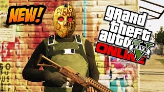 GTA 5 Online Unlock GTA 5 Manhunt Mask & Rare Fist Shirt
