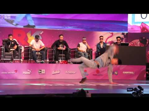 VADOS v LANCER / TOP16 / R16 2014 Final Bboy 1 on 1 / Allthatbreak.com