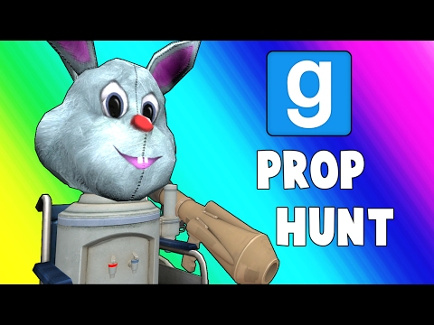 Gmod Prop Hunt Funny Moments  Wheelchair Cartel Garrys Mod