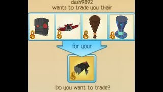 How To Get LOTS Of Trades Animal Jam