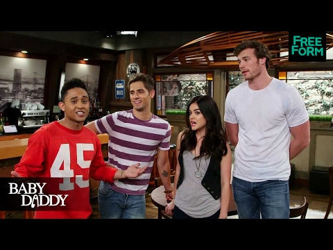 Cast of ABC Family's Baby Daddy with Lucy Hale