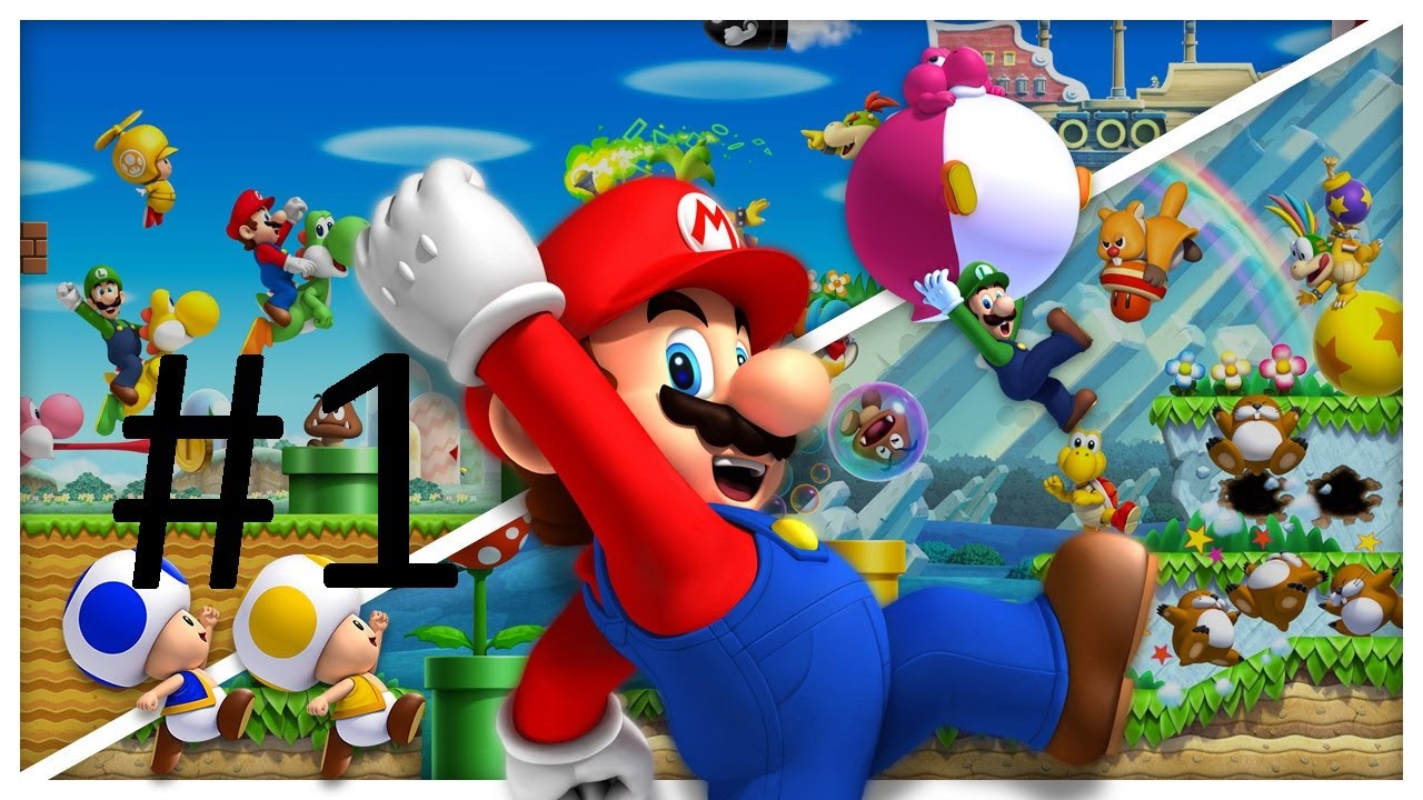 It is a picture of Challenger Mario Bro Pics
