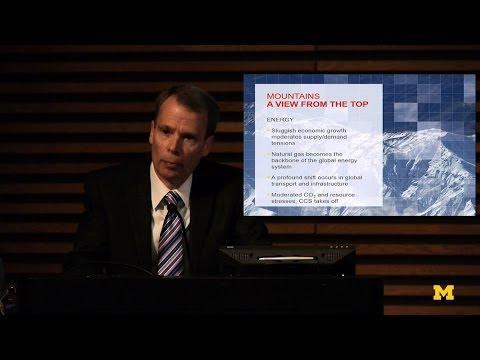 Russ Ford-Energy-Institute Fall Symposium | MconneX | Lectures on Demand on YouTube