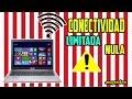 Como Quitar La Conectividad Limitada O Nula en Windows xp, 7, 8 ,8.1