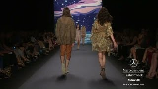 Anna Sui Spring/Summer 2014 Video - New York