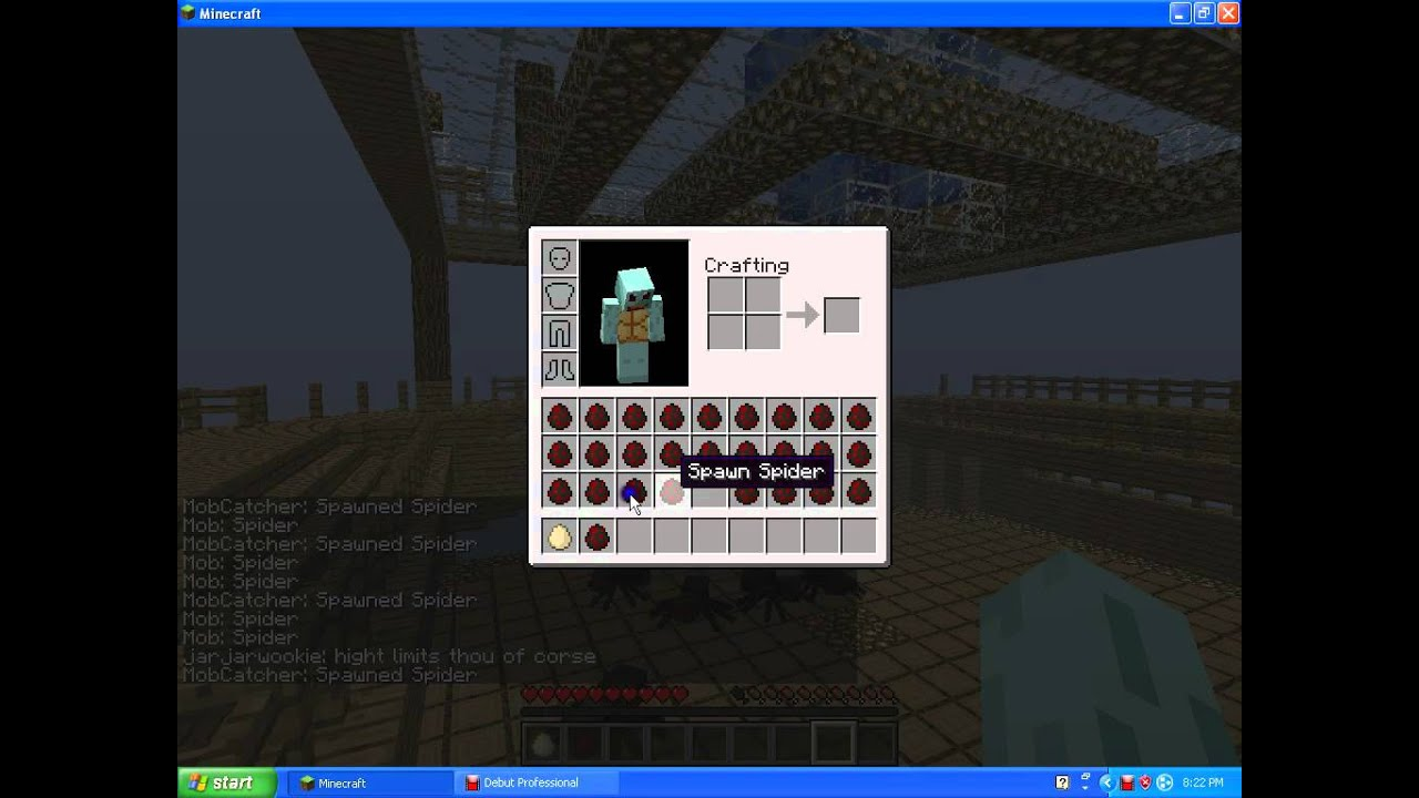 Minecraft Mob Catcher Plugin