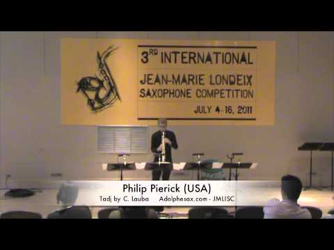 3rd JMLISC: Philip Pierick (USA) Tadj by C. Lauba
