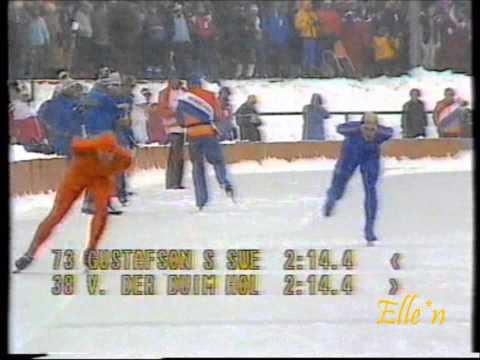 Olympic Winter Games Sarajevo 1984 – 5 km Gustafson – Van der Duim