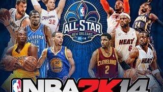 NBA 2k14 All Star Game East Vs West