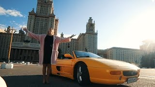Ferrari 355 f1 Spider. Кому суперкар недорого?. Елена Лисовская Видео.