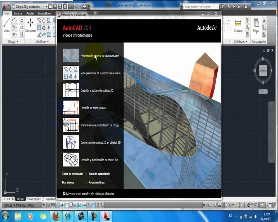 descargar autocad 2011 gratis en espanol para windows 7