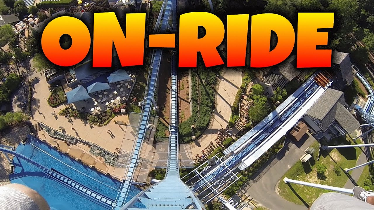 Griffon on ride front seat hd pov busch gardens - Busch gardens williamsburg rides ...