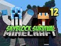 Minecraft Skyblock Survival - #12 - INTO THE NETHER!