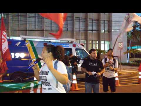 Imagem para vídeo Bryanne Araújo fala na Manifestação Unificada no Dia do Basta