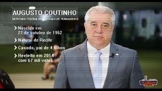 Perfil Parlamentar: Augusto Coutinho (PE)