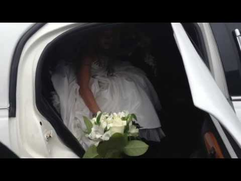 Weddling limousine service in Potomac MD by Airport black car transportation