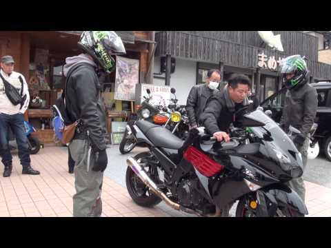 男カワサキ聖地へ カワサキ ゼットワン 生誕40... Z-1 ゼットワン(上戸彩、根食真実、西