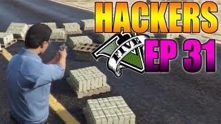 Hackers En GTA V Online #31 OVNI, Mod Menú