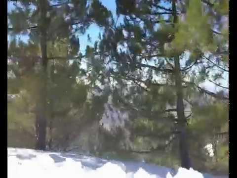 جبال الريف مكسوة بالثلوج