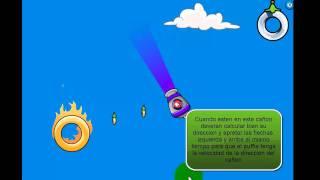 Club Penguin-Puffle Al Viento Nivel 6
