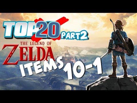 Top 20 Zelda Items (10-1)