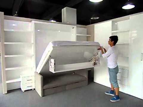 Wall beds space saving diy - Space saving king size bed ...