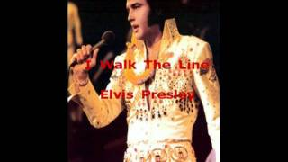 I Walk The Line Elvis Presley