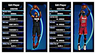 NBA 2k14 PS4 HOW TO GET ANY PLAYERS JUMPSHOT TUTORIAL
