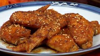 Tebasaki Chicken Wings (Thanksgiving Recipe) | Cooking with Dog