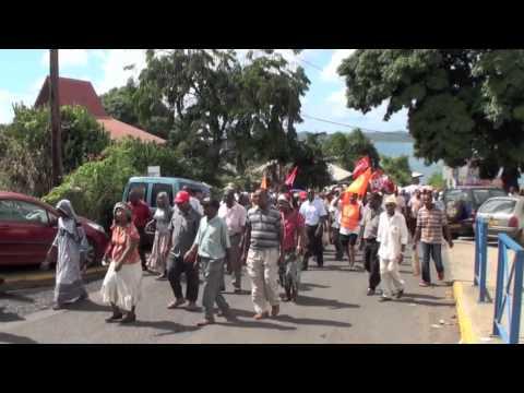 Mayotte revendique Grève 26 mai 2010 image