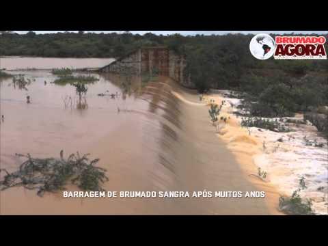 Barragem do Rio do Antônio transborda em Brumado