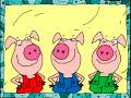 i tre porcellini e babbo natale