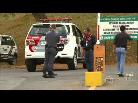 Foram identificados 11 dos 20 suspeitos do assalto à fábrica da Samsung em Campinas